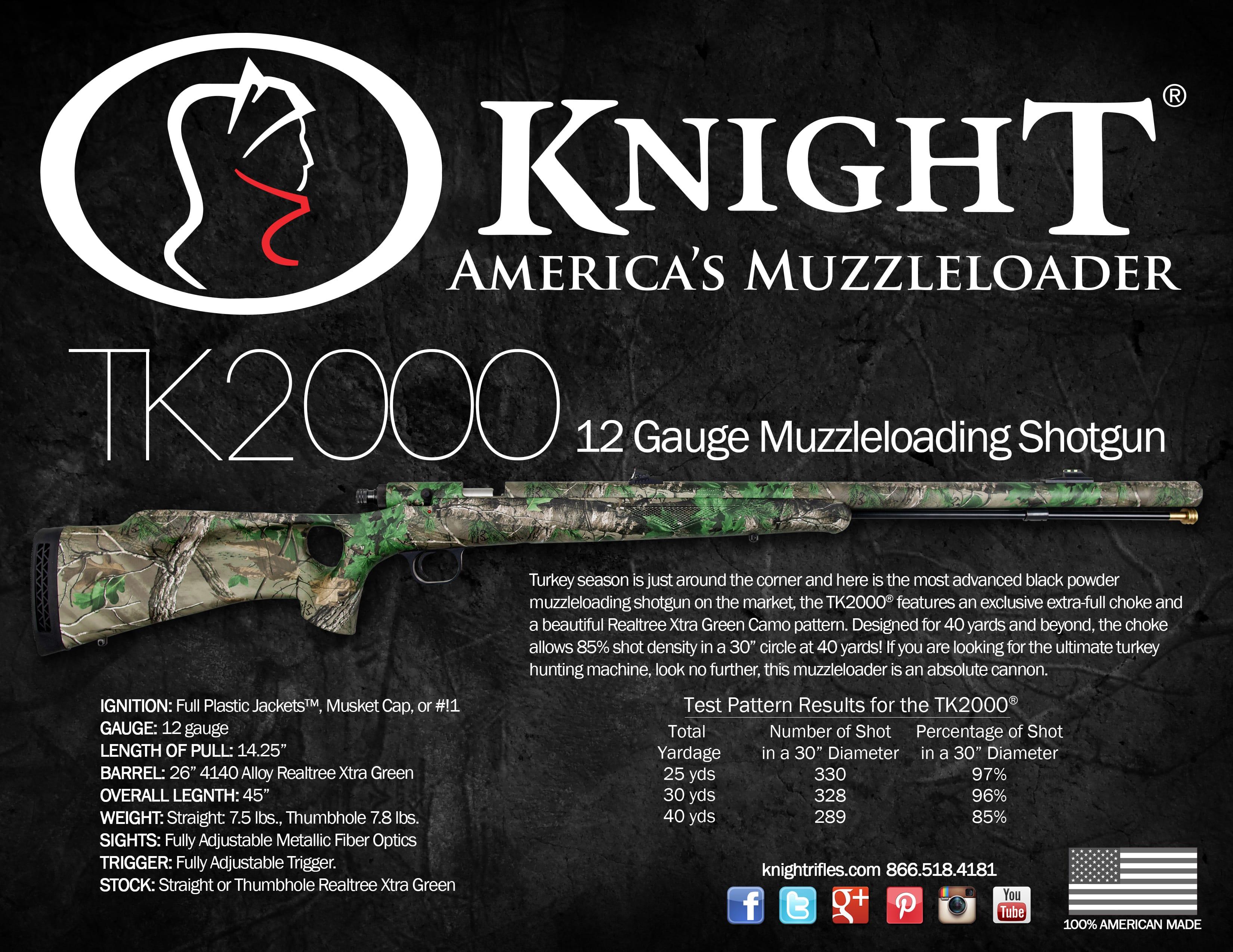 Knight TK2000 Muzzleloader